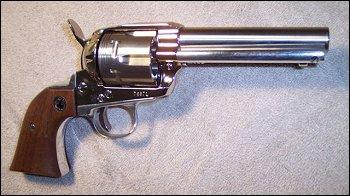 Drawn pistol cowboy gun Custom Draw Revolver the Thumbing