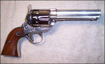 Drawn pistol cowboy gun Gun Action Revolver Action Graham