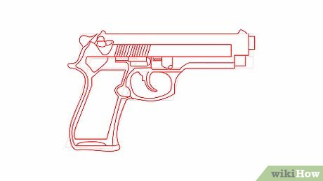 Drawn pistol draw 6 Draw How Pictures) a