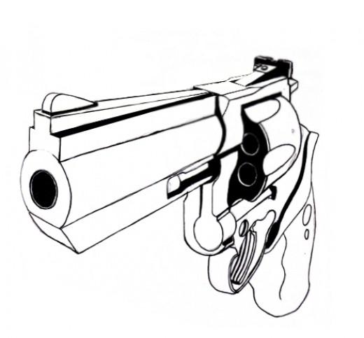 Drawn pistol draw Gun—Full How error to An