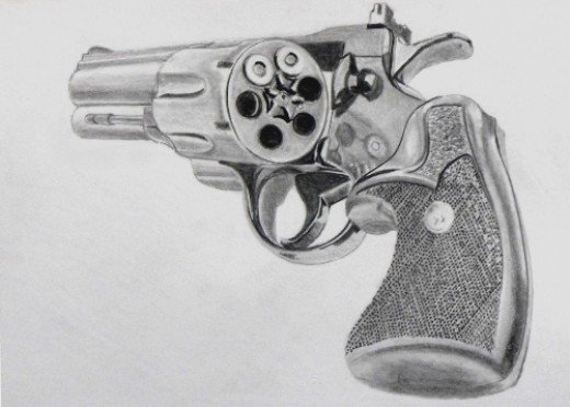 Drawn weapon different Bullet How a the Chamber