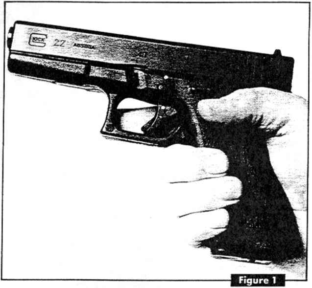 Drawn pistol glock 17 Supplemented  9mm To Silber