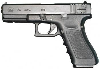 Drawn pistol glock 18 Pistol frame Glock Airsoft Movie