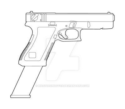 Drawn pistol glock 18 Glock18 glock18 214 jackroberts 18