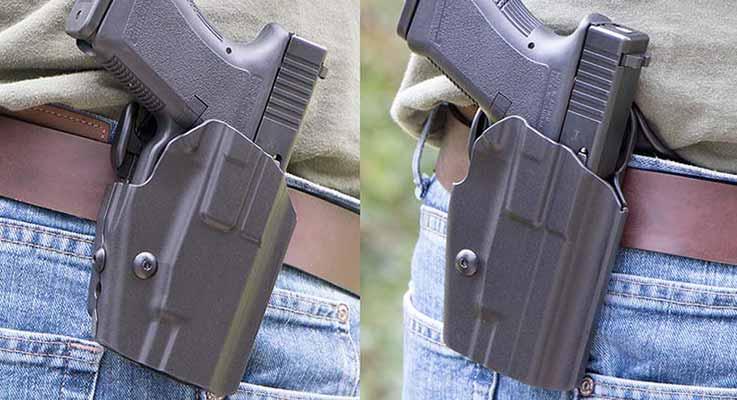 Drawn pistol glock 19  19 Glock Comprehensive Holster