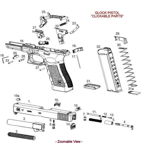 Drawn pistol glock 19 Find Pistol  more 19