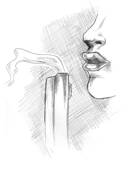 Drawn pistol gun smoke Media – –  Gun