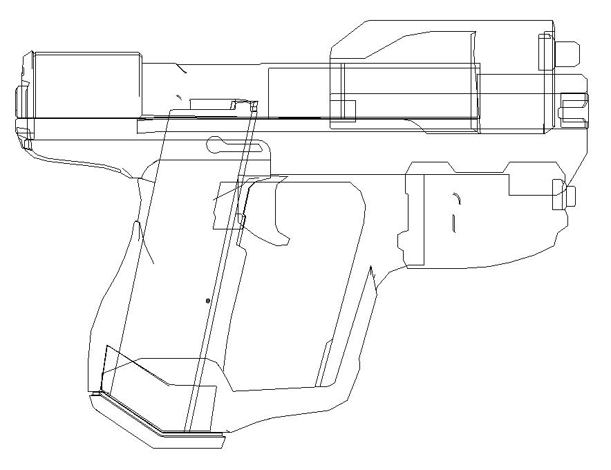 Drawn pistol halo Reach blueprints Google halo assault