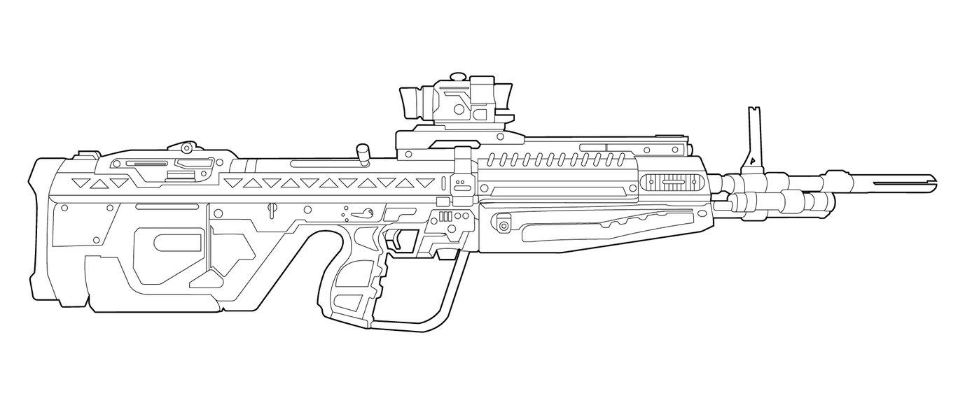 Drawn pistol halo To guns Google how draw