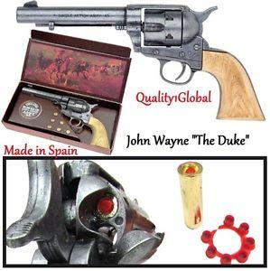Drawn pistol hand gun FAST WAYNE REPLICA WAYNE JOHN