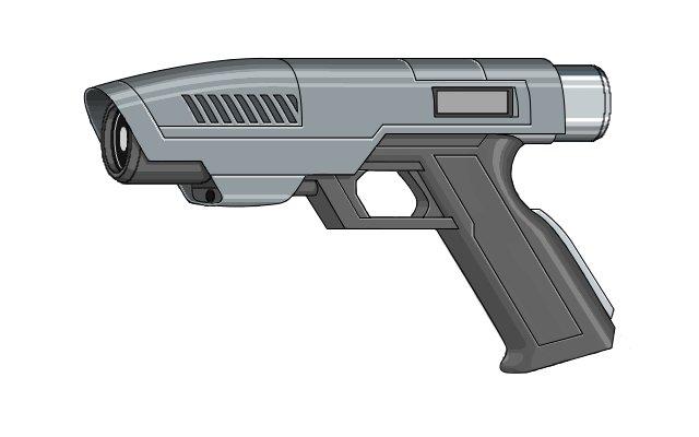 Drawn pistol laser gun Gun gun Research laser Google