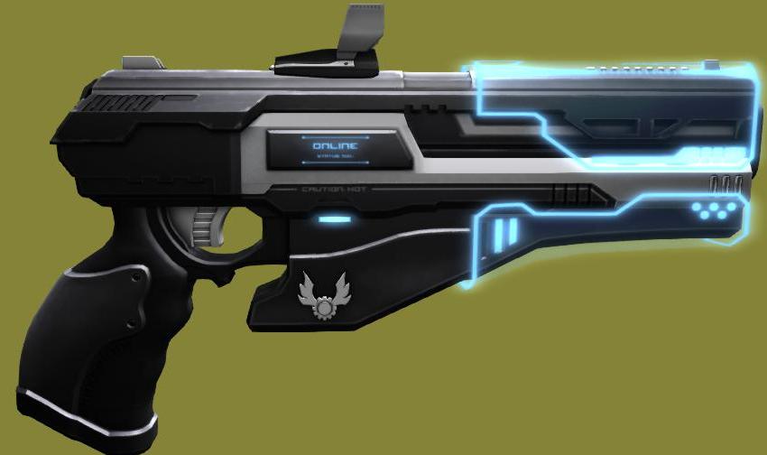 Drawn pistol laser gun Search revolver revolver Pinterest Google