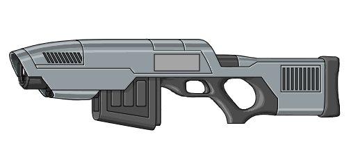 Drawn pistol laser gun Sci Speculate!  Fi WeTheArmed