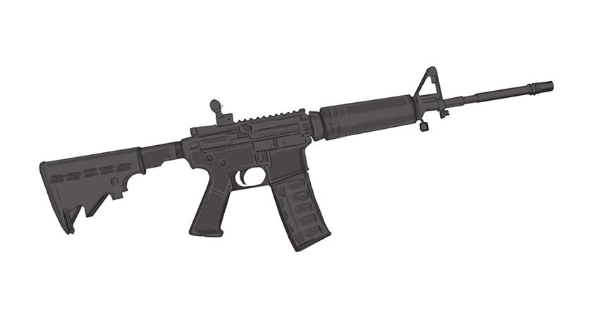 Drawn pistol long gun Stands US it or best