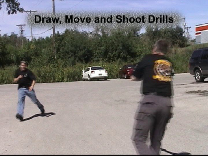 Drawn pistol long gun Hock teaches Draws Pistol W
