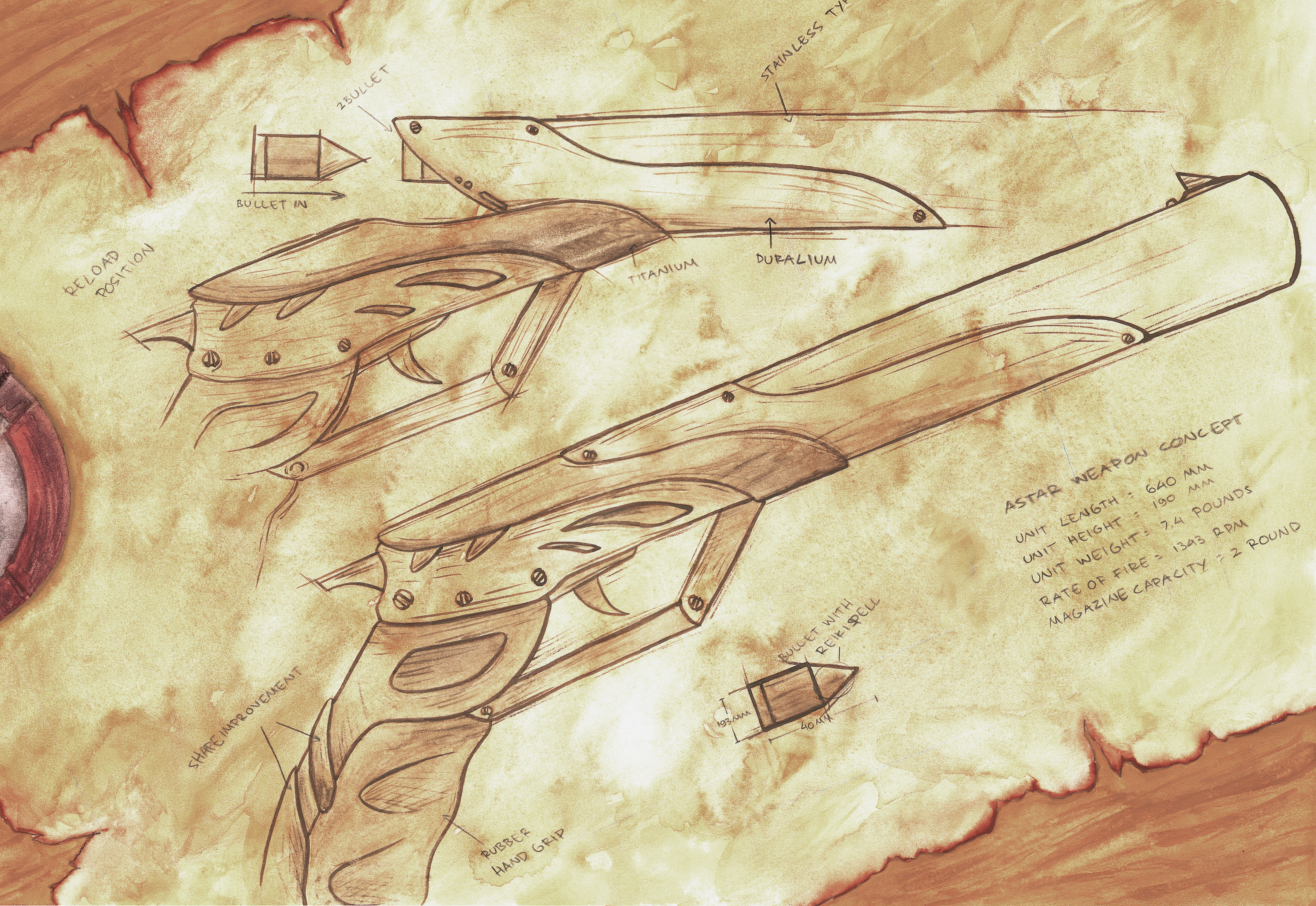 Drawn weapon historical Retro artistic human  art