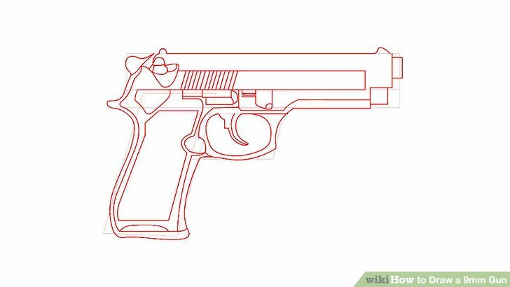Drawn shotgun 9mm pistol Gun a Draw preview Step