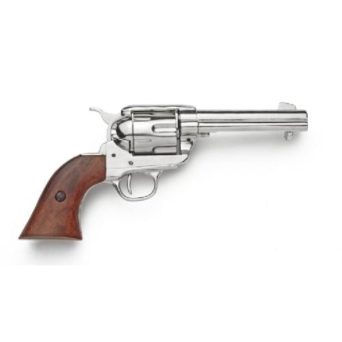 Drawn pistol old gun West Nickel Gun Armoury West