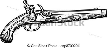 Rifle clipart old #8