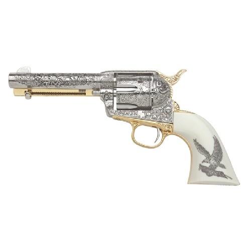 Drawn shotgun cowboy gun Nickel Guns on at Revolver