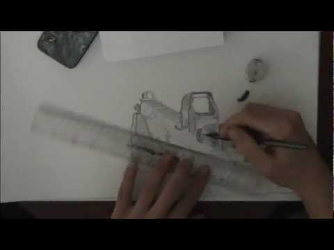 Drawn pistol person Person) ACR YouTube Speed (First
