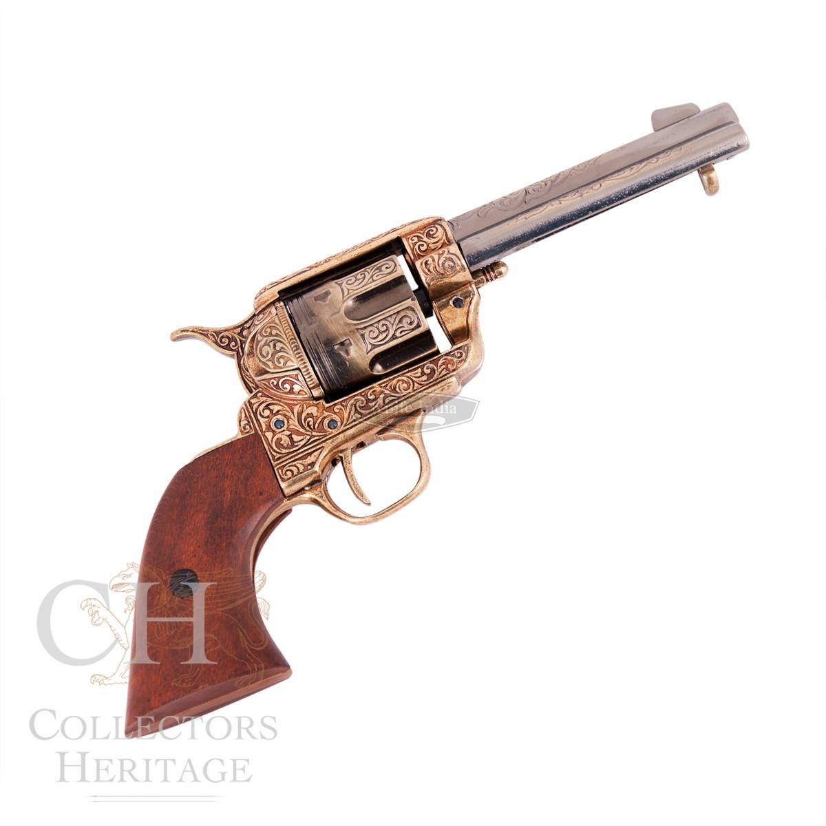 Drawn pistol realistic Non Replica Revolvers 45 Revolver