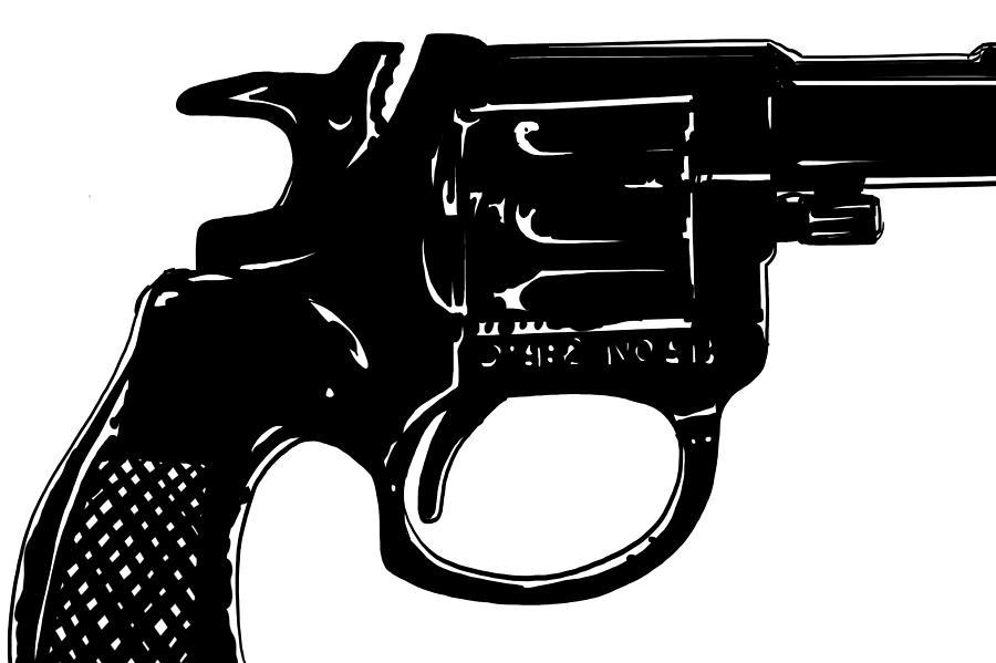 Drawn pistol rifle By Drawing 3 Mystery Gun