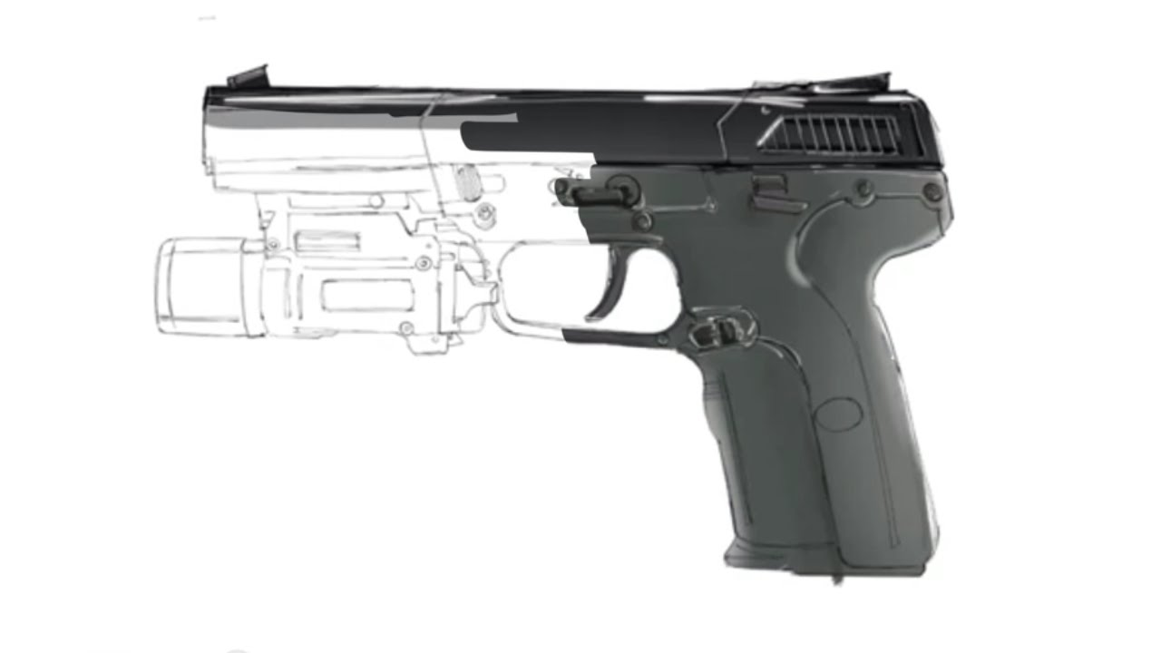 Drawn pistol rifle Pistol seven five How Draw