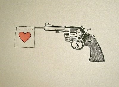 Drawn shotgun revolver gun On images wedding Pinterest Guns:
