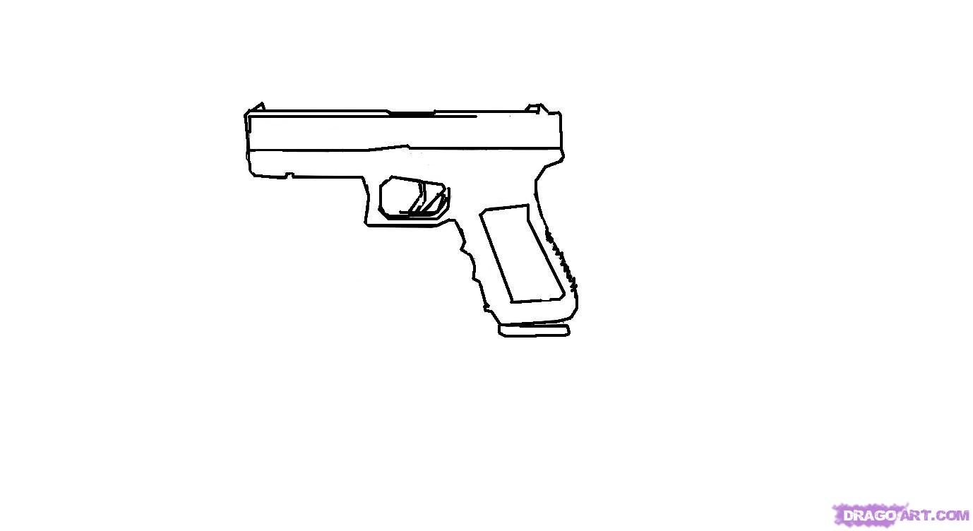 Drawn weapon famous Step a draw how guns