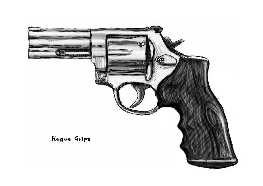 Drawn weapon pistol Gun Drawing Drawing