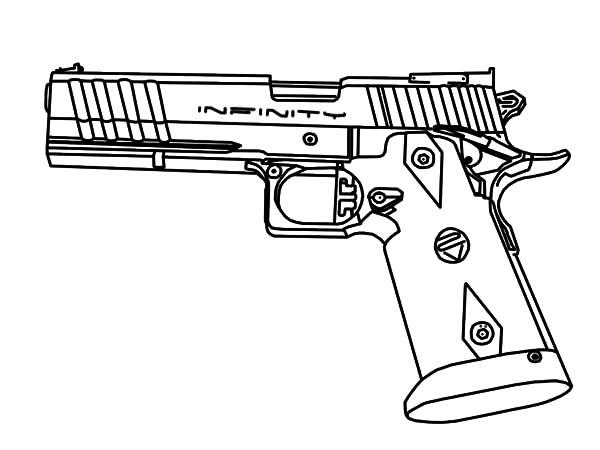 Drawn pistol sniper gun Pages Military Sniper Futuristic Sniper