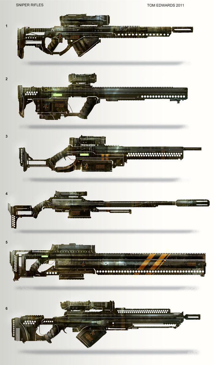 Drawn pistol sniper gun Com on on Rifles @deviantART