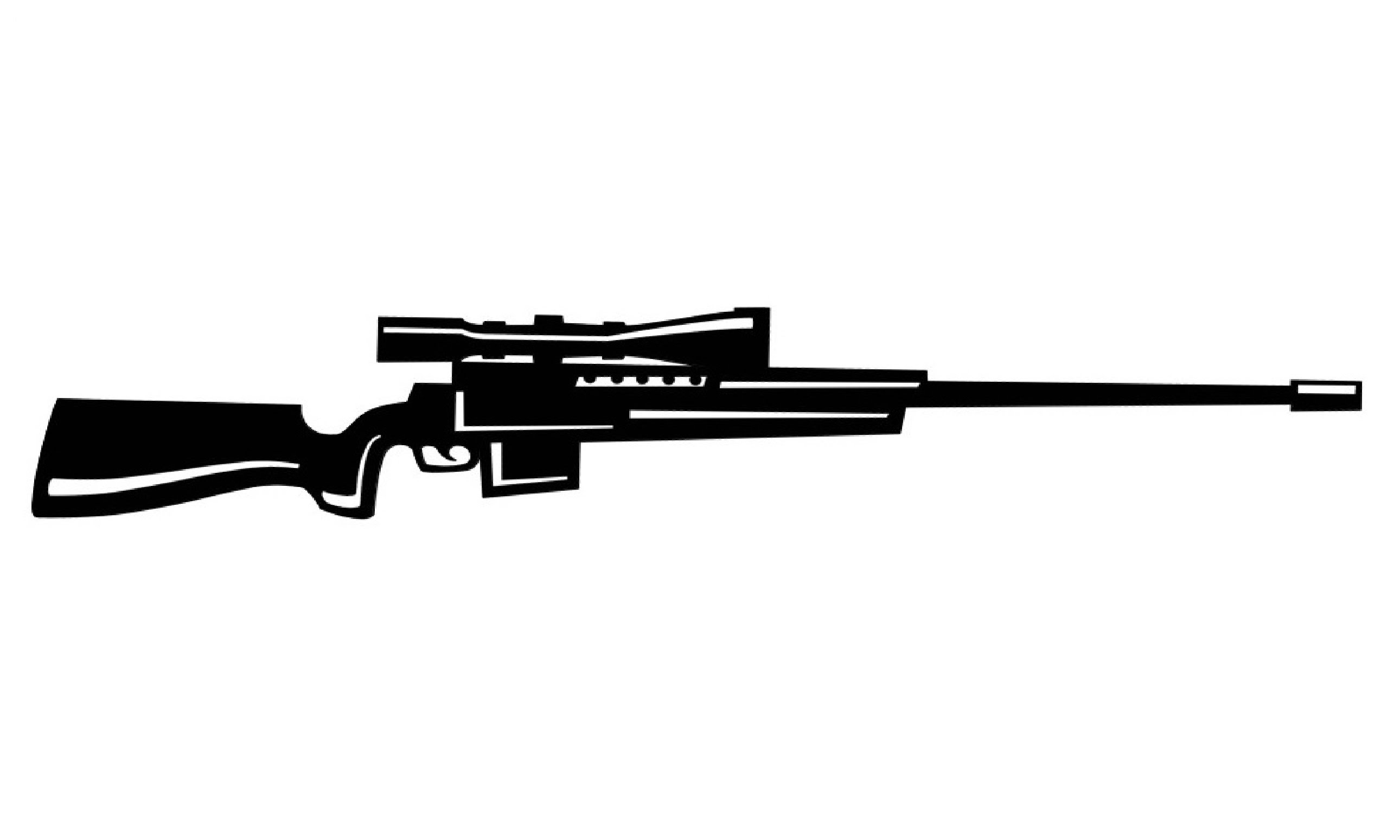 Drawn weapon sniper rifle Rifle / Rifle  to