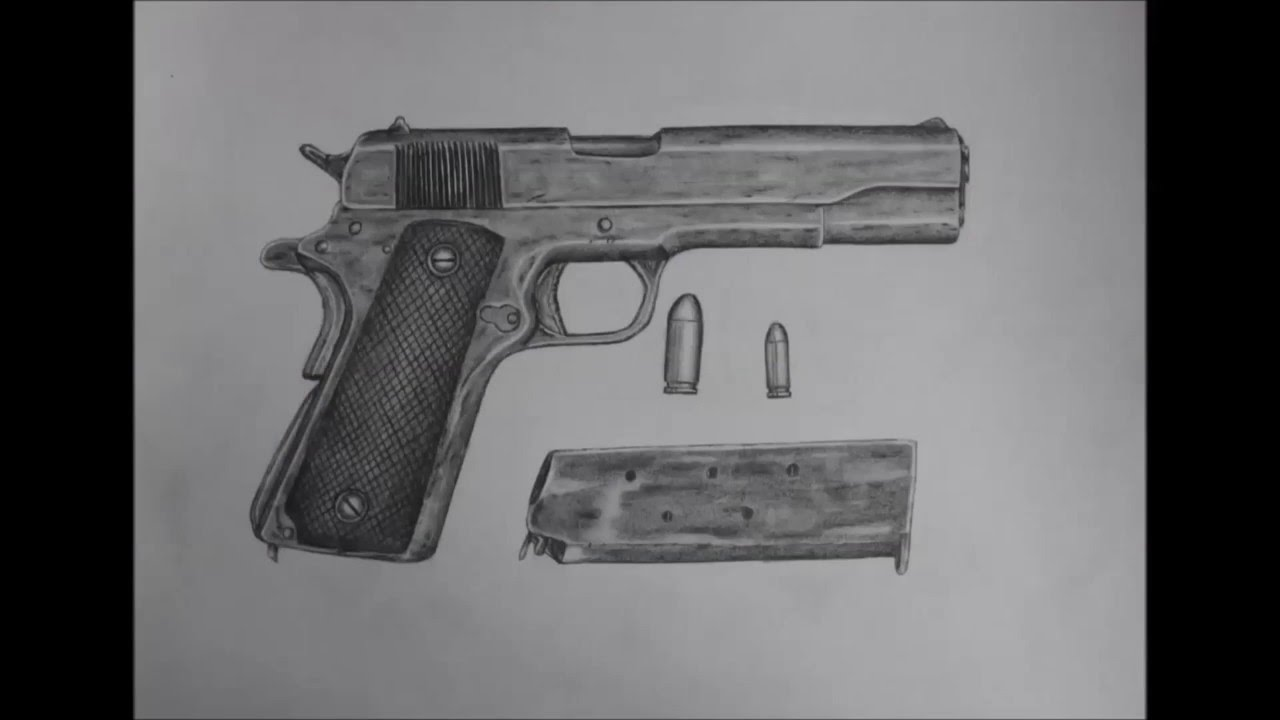 Drawn pistol standard Drawn drawn guns YouTube 3