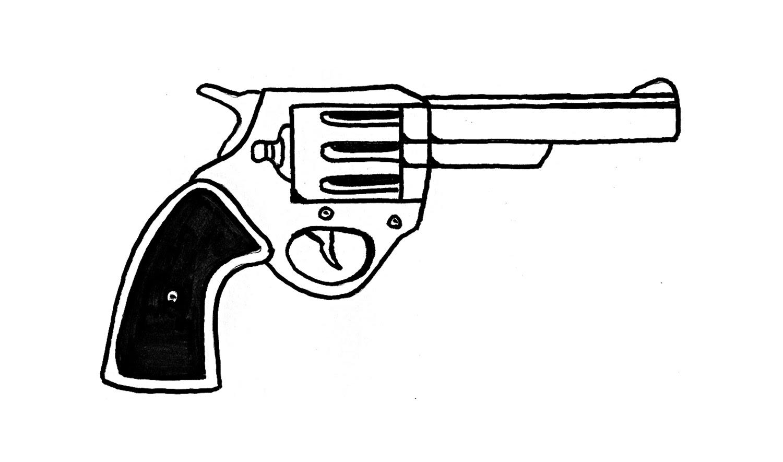 Drawn pistol standard 38 YouTube (pistol) revolver a