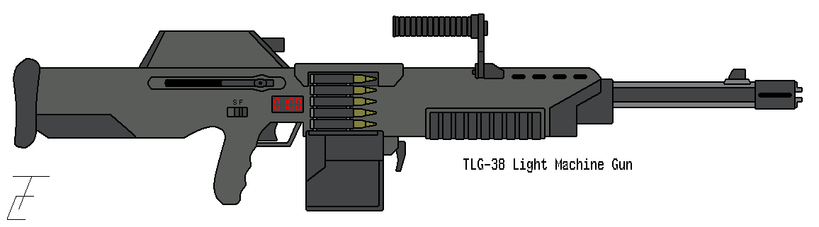 Drawn pistol submachine gun Gun by omegafactor90 Machine Machine