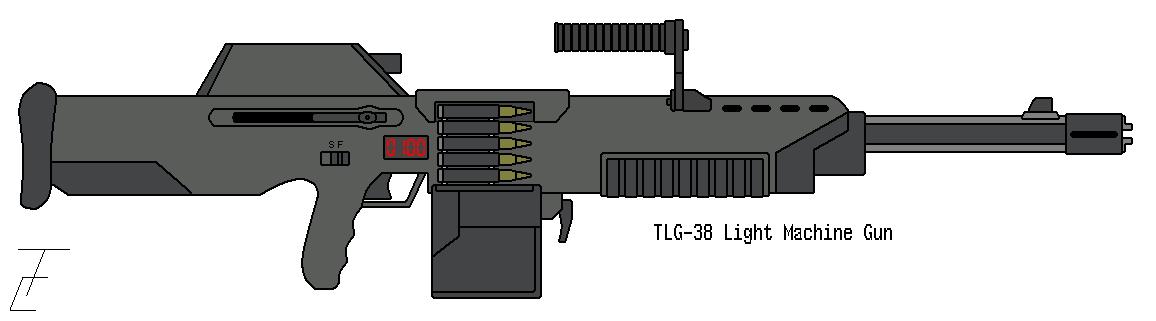Drawn pistol submachine gun DeviantArt omegafactor90 omegafactor90 on Machine