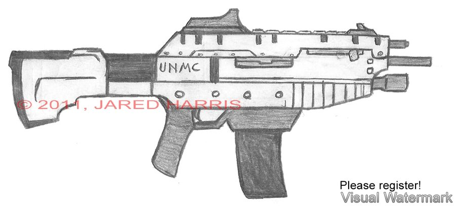 Drawn pistol submachine gun On Malcontent1692 M56 gun DeviantArt