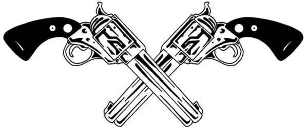 Drawn pistol tribal The but in Random the