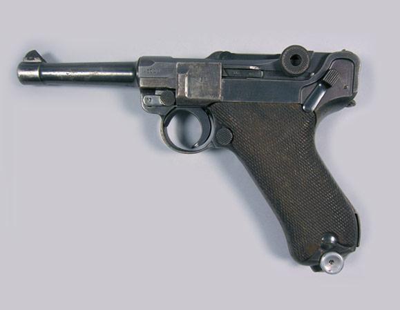 Drawn pistol war gun Weapons of WWI Search 1