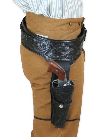 Drawn pistol western gun Holster Gun Belt cal) Draw