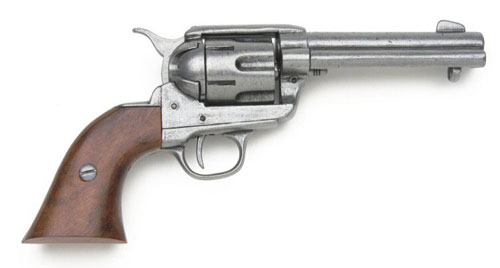 Drawn pistol western gun & Old West GRAY Reproductions