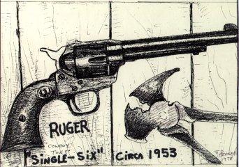 Drawn pistol western gun Stories seller Old a Gun