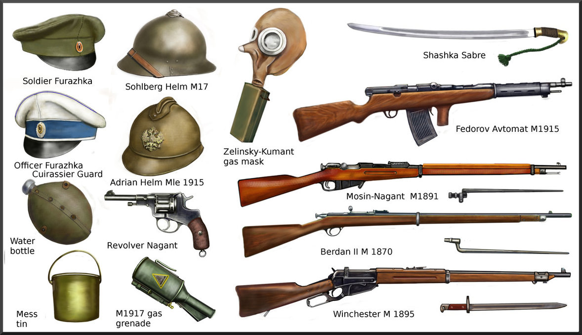 Drawn pistol ww1 gun All mill to It WarMilitary