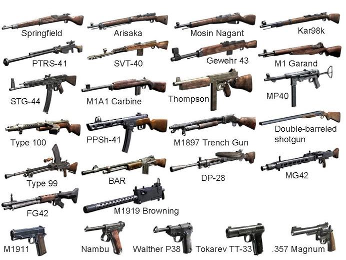 Drawn pistol ww2 gun OF WWII WW2 Pinterest WWII