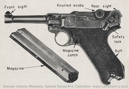 Drawn pistol ww2 gun Intelligence pistol Weapons German and