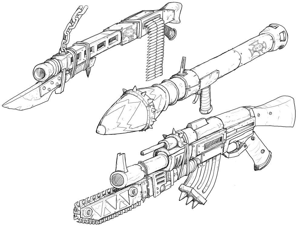 Drawn pistol ww2 gun WW2 Taytonclait Weaponry Weaponry by