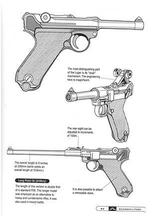 Drawn pistol ww2 gun Military Draw University And