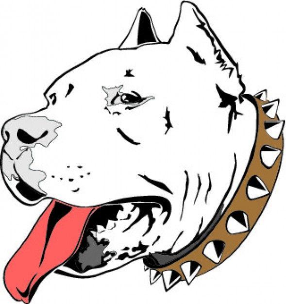 Drawn pit bull Best drawing icon head Pinterest